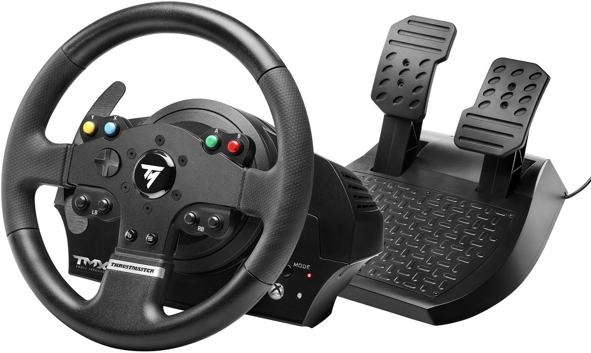 Thrustmaster TMX FFB EU Version руль для Xbox One/PC гоночный руль thrustmaster t300 ferrari gte eu version для ps4 ps3 и pc