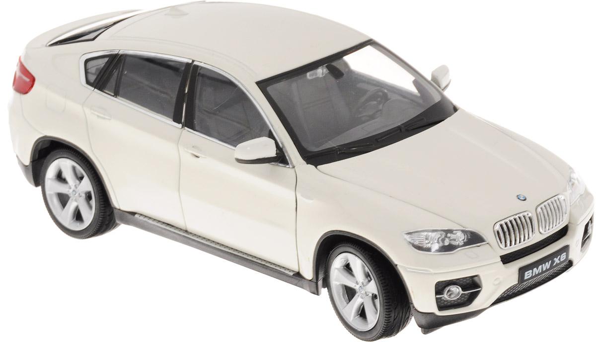 Welly Модель автомобиля BMW X6 цвет белый welly модель автомобиля audi q7 цвет серый