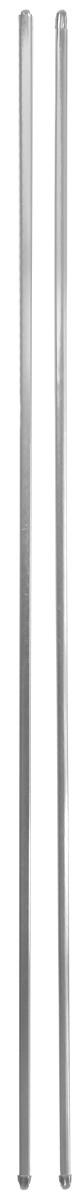 """Витражная штанга """"Эскар"""" - это не только аксессуар для штор, но и элемент декора. Изделие выполнено из металла. Держатели штанг вкручиваются в раму в предварительно рассверленное отверстие. В комплект входят: 2 штанги, 6 крючков для крепления.   Оригинальная и стильная штанга дополнит интерьер любой комнаты.  Длина карниза: 100-160 см."""