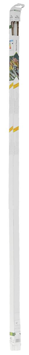 Лампа люминесцентная Dennerle Special Plant, Т5, 80 Вт, длина 1,45 мDEN2903Люминесцентная лампа Dennerle Special Plant предназначена для освещения пресноводных аквариумов. Лампа покрыта UV-стоп защитной пленкой для предотвращения роста водорослей. Создает гармоничную световую атмосферу в аквариуме, имеет оптимальный спектр для фотосинтеза и идеальную цветовую температуру, обеспечивая пышный рост всех аквариумных растений. Благодаря высокой степени цветопередачи рыбы и растения освещаются в самых выигрышных тонах. Лампа изготовлена по новейшей технологии Longlife-Technik, что гарантирует свыше 10000 часов работы.