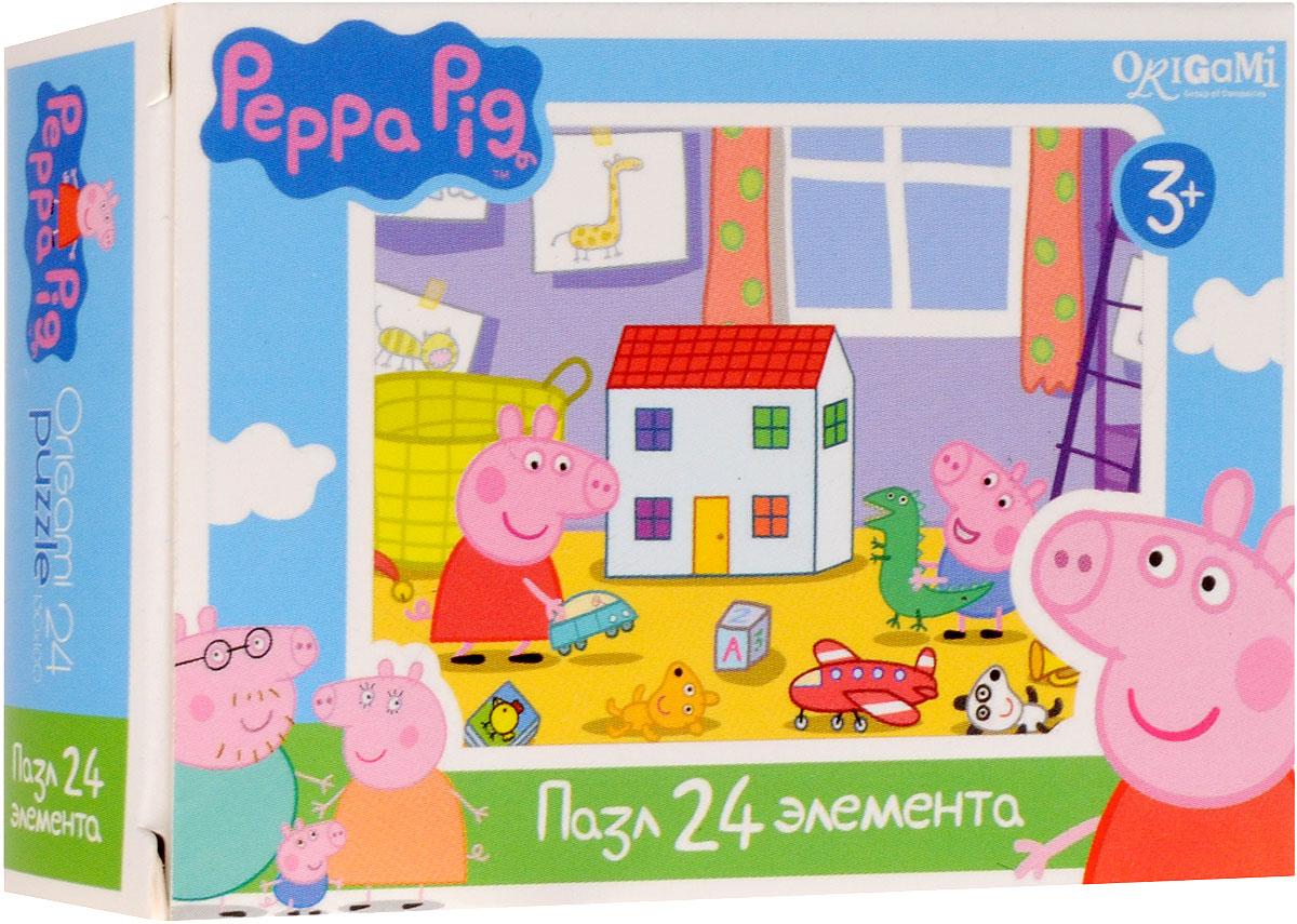 Оригами Пазл для малышей Peppa Pig Детская комната origami пазл peppa pig семья пеппы 24 детали