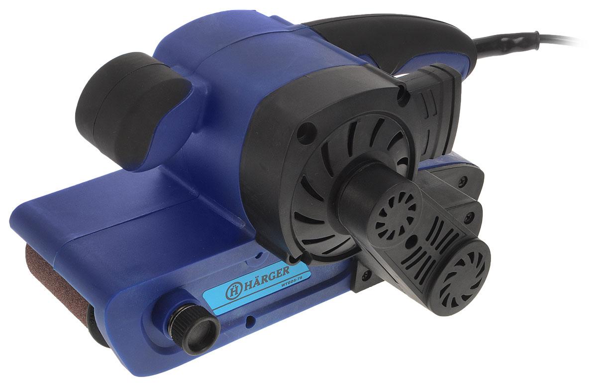Шлифовальная машина ленточная Harger WTDD5-76WTDD5-76Ленточная шлифовальная машина Harger WTDD5-76 - удобный надежный инструмент для разнообразных работ с различными материалами. Благодаря установке лент разной зернистости позволяет осуществлять любую обработку - грубую обдирку, зачистку от ржавчины и лакокрасочных материалов, предварительное и финишное шлифование, а также заточку инструмента. Удобство сбора пыли в мешок обеспечивает встроенная система пылеудаления.Скорость: 380 м/мин.Размер ленты: 7,6 х 53,3 см.