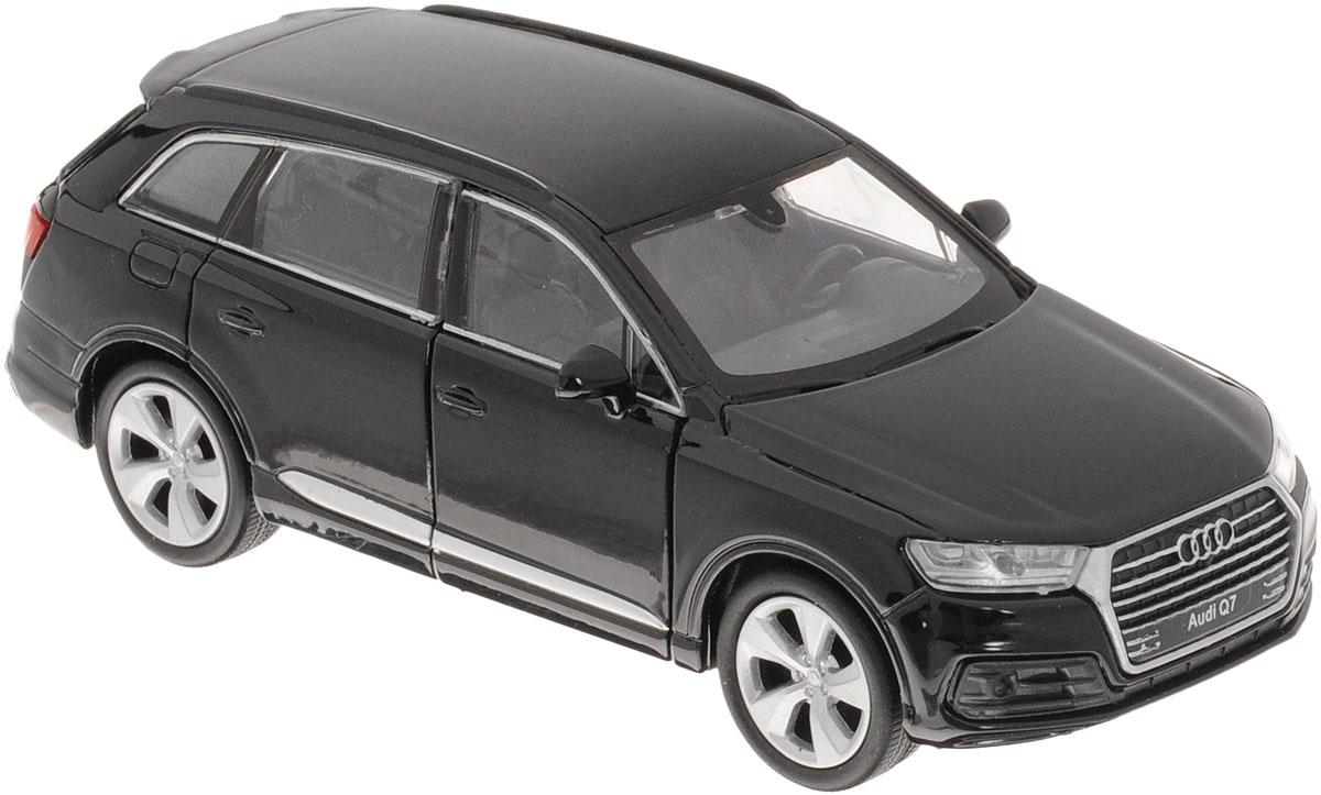 Welly Модель автомобиля Audi Q7 цвет черный автомобиль welly audi r8 v10 1 24 белый 24065