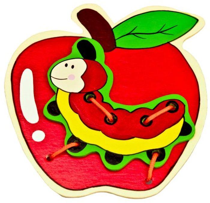 Mapacha Игра-шнуровка Яблоко