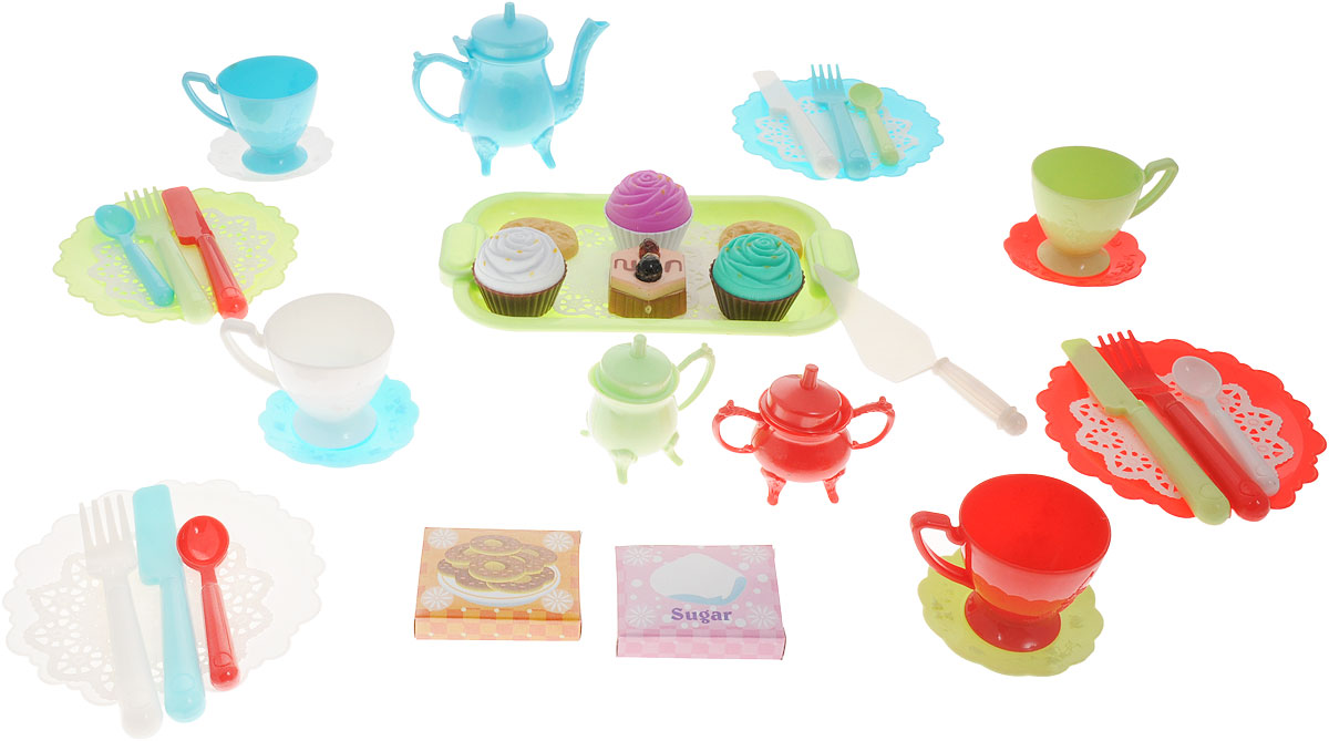 Boley Игрушечный набор Чайная вечеринка аксессуары для кукол boley игрушка boley корона серия холодное сердце