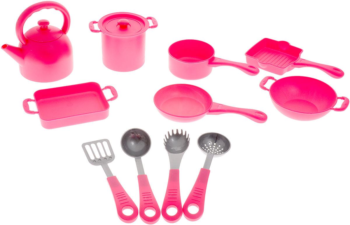 Boley Игрушечный набор кухонной посуды 41229С аксессуары для кукол boley игрушка boley корона серия холодное сердце