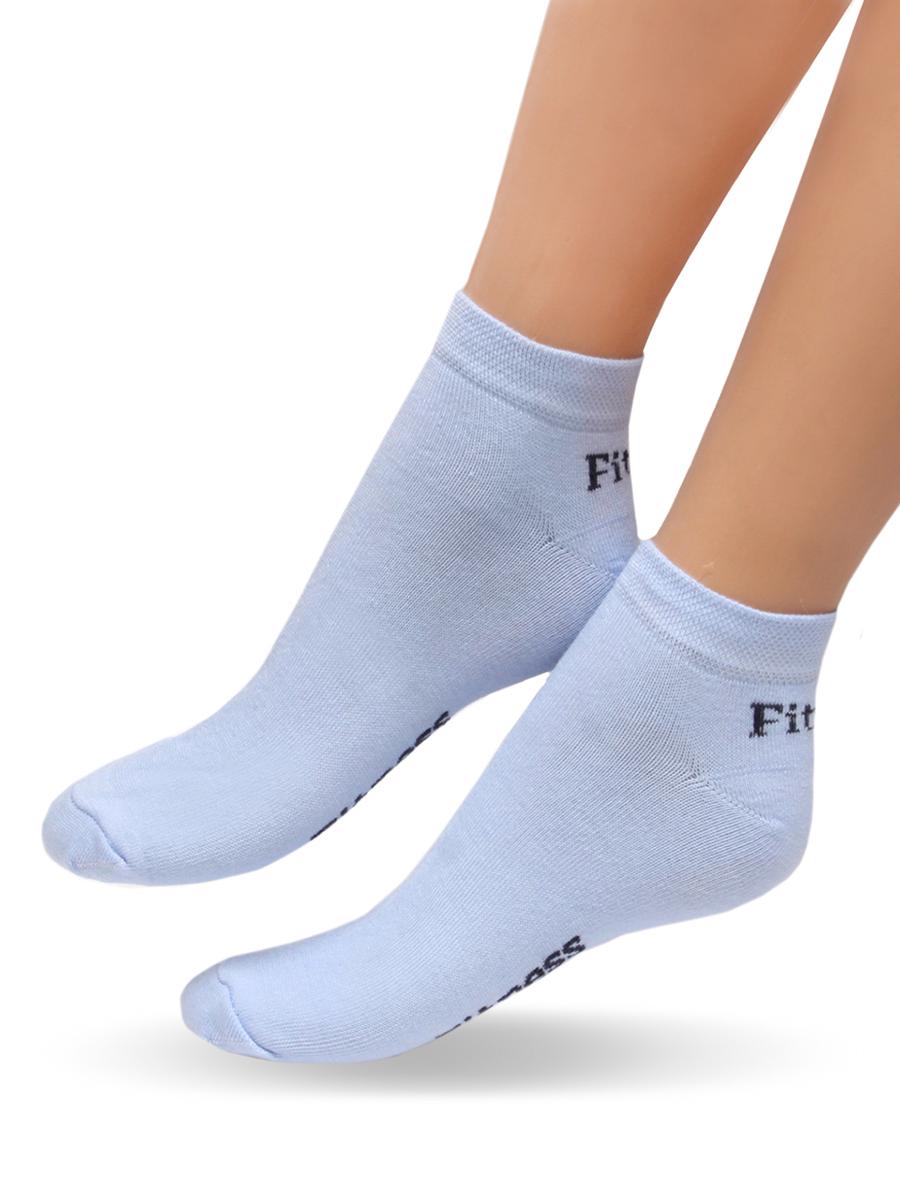 Носки женские Touch Gold, цвет: голубой. 900. Размер 23/25900Удобные женские носочки Touch Gold для занятий спортом. Укороченная модель. Носочки изготовлены из лучших сортов хлопка с добавлением эластановых волокон, которые обеспечивают повышенную износостойкость, превосходную посадку и позволяют вашим ножкам дышать, благодаря высокой доле содержания натуральных волокон.