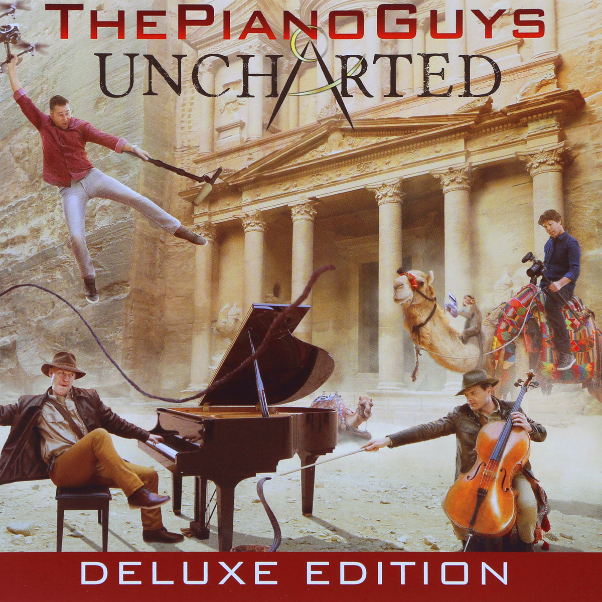 The Piano Guys The Piano Guys. Uncharted. Deluxe Edition (CD + DVD) amazing grace cd