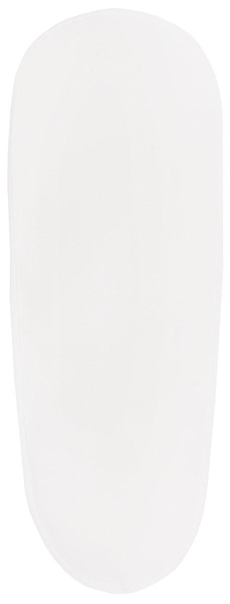 Чехол для рукава гладильной доски Leifheit, цвет: белый, 52 х 12 см72324Функциональный и практичный чехол на рукав гладильной доски от Leifheit предназначен для установки на специальное компактное приспособление, которое облегчает глажку отдельных элементов одежды или белья сложной конфигурации. Максимально возможный размер гладильной мини-доски - 52 х 12 см. Чехол выполнен из высококачественного хлопка и обладает отличной паропроницаемостью. Он оснащен прокладкой из 2-х миллиметрового пеноматериала, а также стяжным шнуром по периметру, который надежно фиксируется в требуемом положении. Качественные материалы обеспечат длительный срок службы изделия.