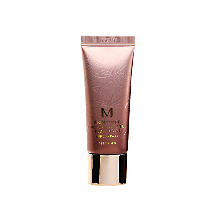 Missha Крем ББ многофункциональный Signature Real Complete BB Cream SPF25/PA++ (No.21/Light Pink Beige), 20 гр missha signature glam art gloss srd04 цвет srd04
