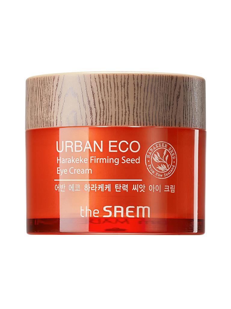 The Saem Крем для глаз укрепляющий Urban Eco Harakeke Firming Seed Eye Cream, 30 млСМ2113Крем обладает успокаивающим, седативным, питательным эффектом, смягчает и увлажняет кожу, восстанавливает защитный механизм кожи, активизирует обменные процессы, усиливает синтез эластина и коллагена, повышает иммунитет и антиоксидантный потенциал кожи. Укрепляет тургор кожи, минимизирует глубину морщин, препятствует возникновению тусклого тона кожи. Содержит 42% экстракта конопли, 3% масла конопли, мед, экстракт лаванды, бергамота, мяты перечной, фрезии, ромашки, розмарина, пантенол, аденозин.Объем: 30мл