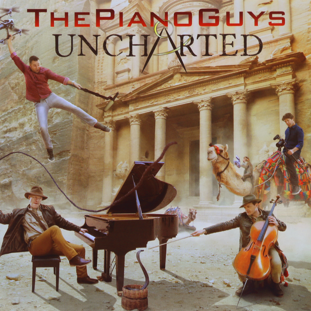 The Piano Guys The Piano Guys. Uncharted universal steel sling mount adapter black