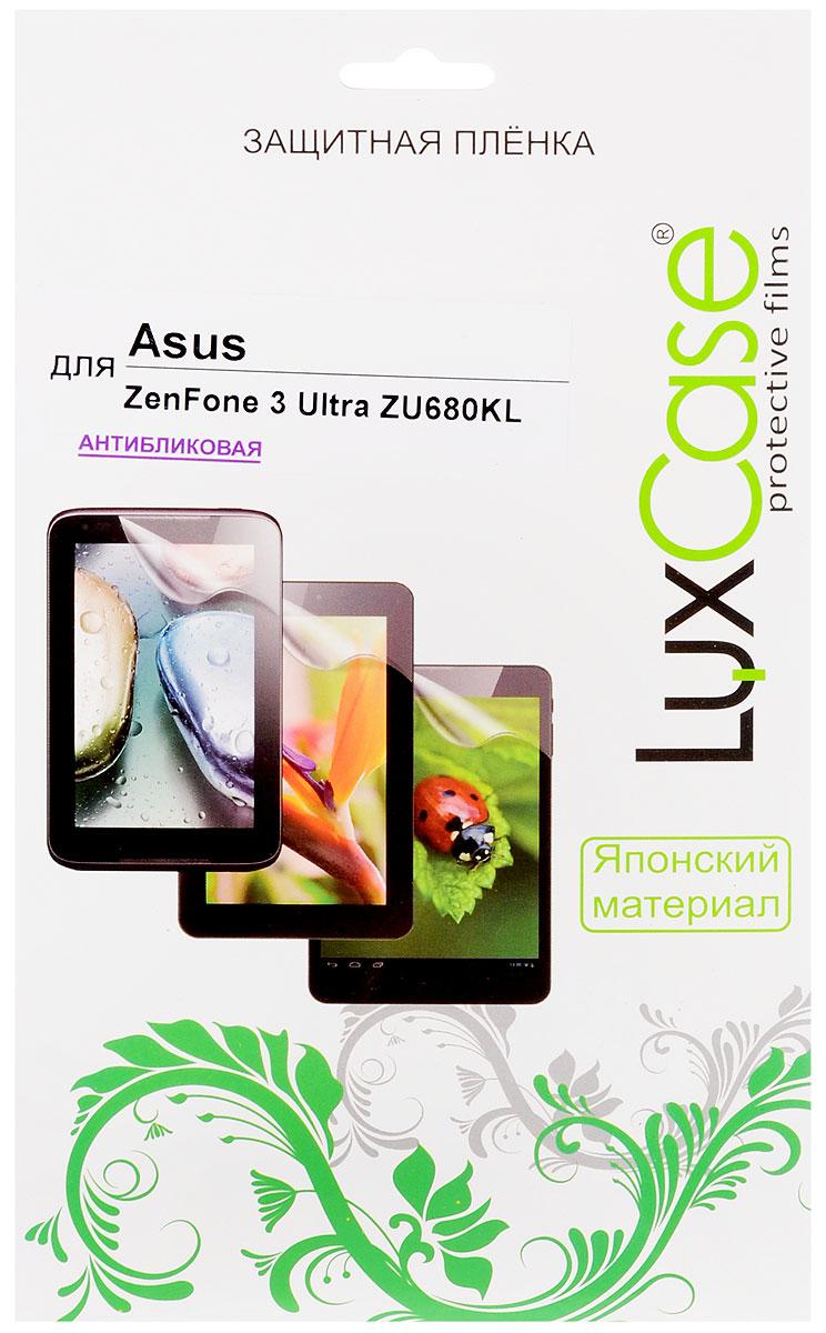 LuxCase защитная пленка для Asus ZenFone 3 Ultra ZU680KL, антибликовая luxcase защитная пленка для asus zenfone 4 max zc554kl суперпрозрачная