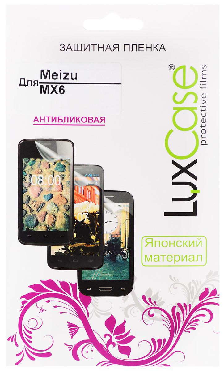 LuxCase защитная пленка для Meizu MX6, антибликовая invotone invotone mx6