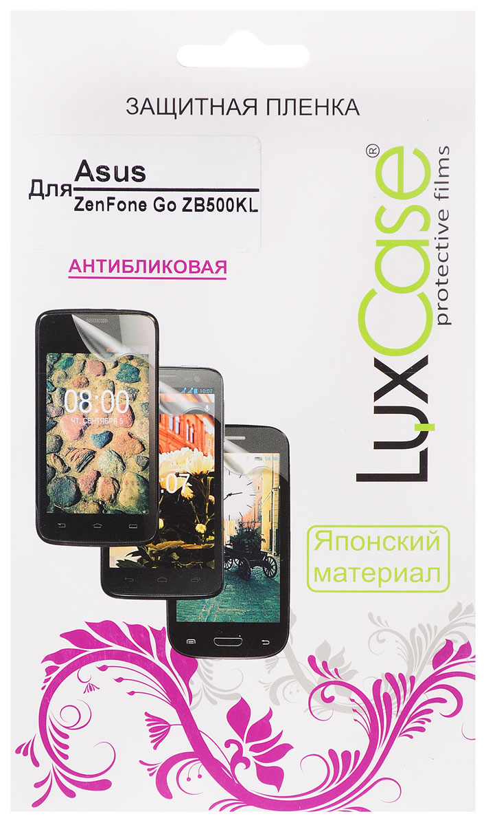 LuxCase защитная пленка для Asus Zenfone Go ZB500KL, антибликовая ruiandsion 2x75w 900lm 15smd xbd chips red error free 1156 ba15s p21w led backup revers light canbus 12 24vdc