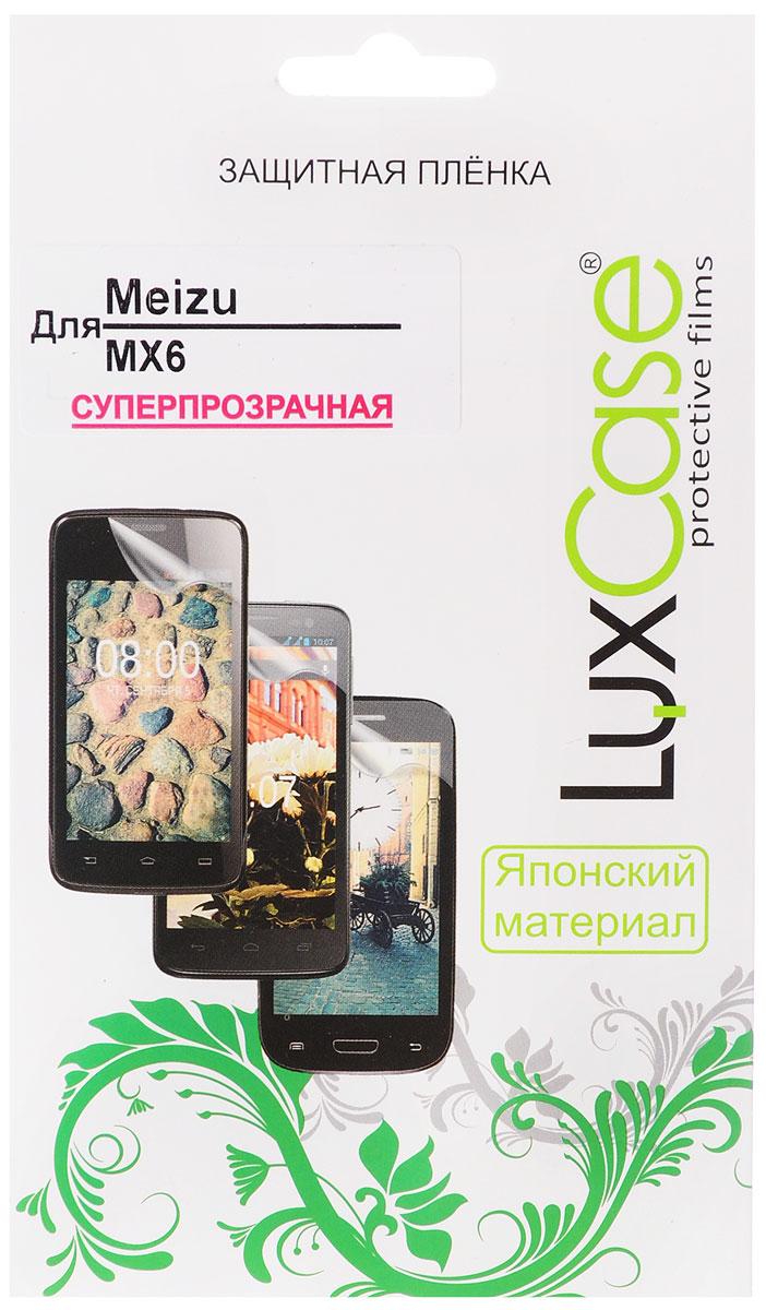 LuxCase защитная пленка для Meizu MX6, суперпрозрачная luxcase защитная пленка luxcase для meizu m3 note