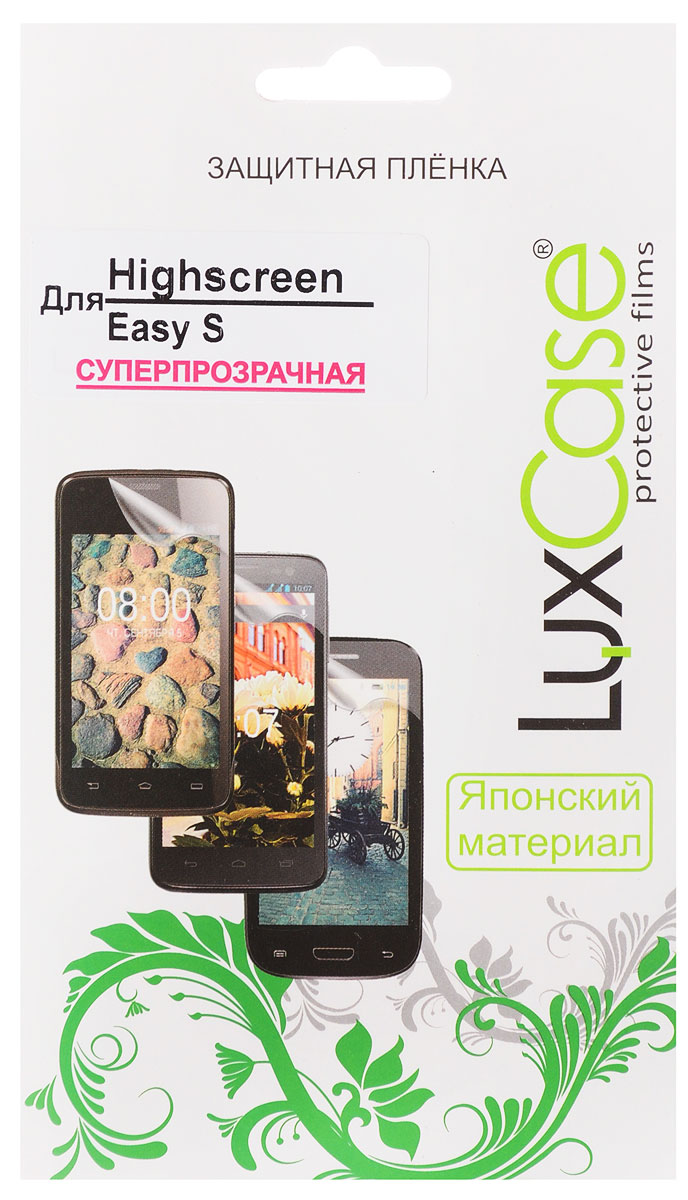 luxcase защитная пленка для highscreen easy f pro антибликовая LuxCase защитная пленка для Highscreen Easy S, суперпрозрачная