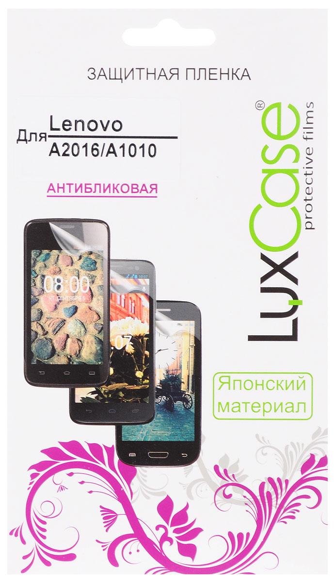 LuxCase защитная пленка для Lenovo A2016/A1010, антибликовая luxcase luxcase sp для lenovo a1010 a2016