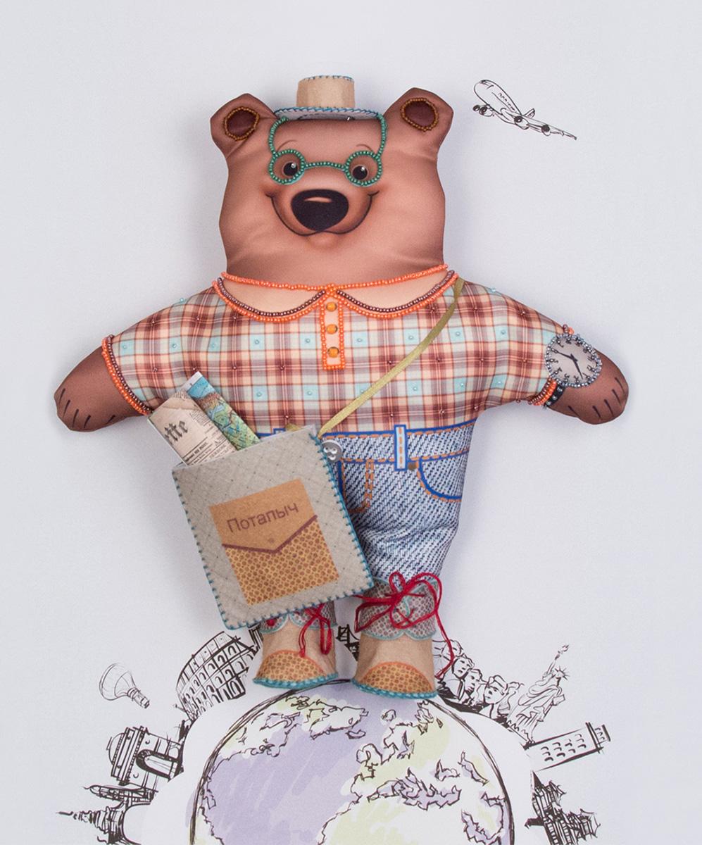Набор для изготовления игрушки Матренин Посад Михаил Потапыч турист наборы для вышивания матренин посад рисунок на канве у прохладного фонтана