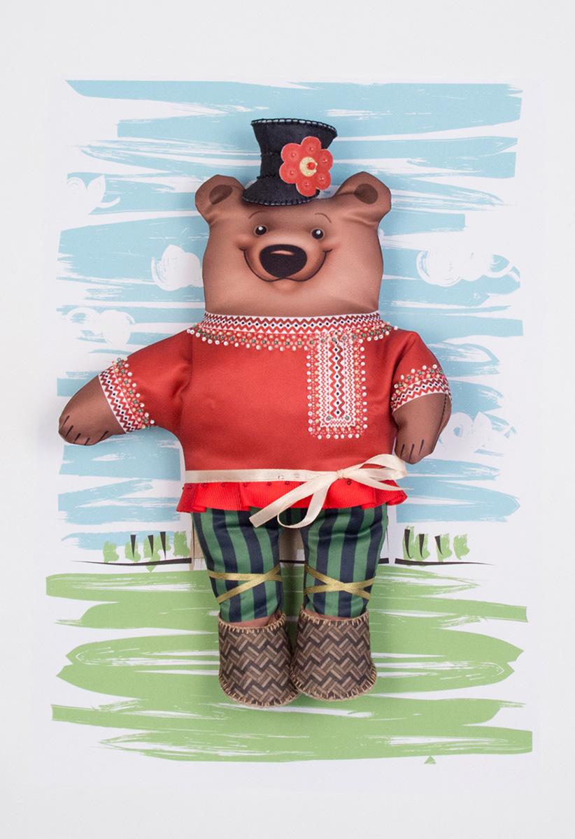Набор для изготовления игрушки Матренин Посад Михаил Топтыгин наборы для вышивания матренин посад рисунок на канве у прохладного фонтана