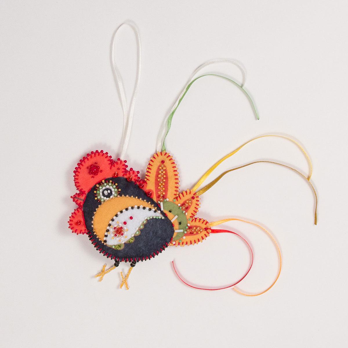Набор для создания елочной игрушки Матренин Посад Крикун, 10 х 12 см набор для создания открытки поздравление маме матренин посад