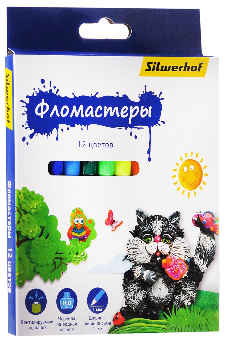 Silwerhof Фломастеры Пластилиновая коллекция 12 цветов867199-12Набор Silwerhof Пластилиновая коллекция - это 12 фломастеров ярких насыщенных цветов в разноцветных пластиковых корпусах (цвет корпуса соответствует цвету чернил). Каждый фломастер оснащен плотным вентилируемым колпачком, защищающим чернила от испарения.Чернила изготовлены на водной основе. Легко отстирываются и смываются с рук.Фломастеры Silwerhof - идеальный инструмент для самовыражения и развития маленького художника!