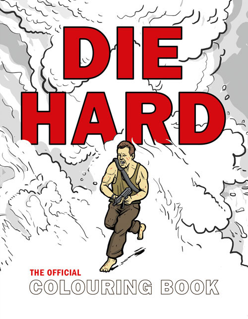 Die Hard: The Official Colouring Book 30pcs in one postcard take a walk on the go dubai arab emirates christmas postcards greeting birthday message cards 10 2x14 2cm