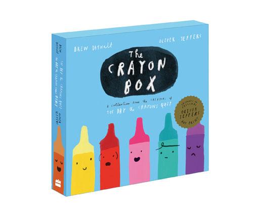 The Crayon Box (комплект из 2 книг) kz headset storage box suitable for original headphones as gift to the customer