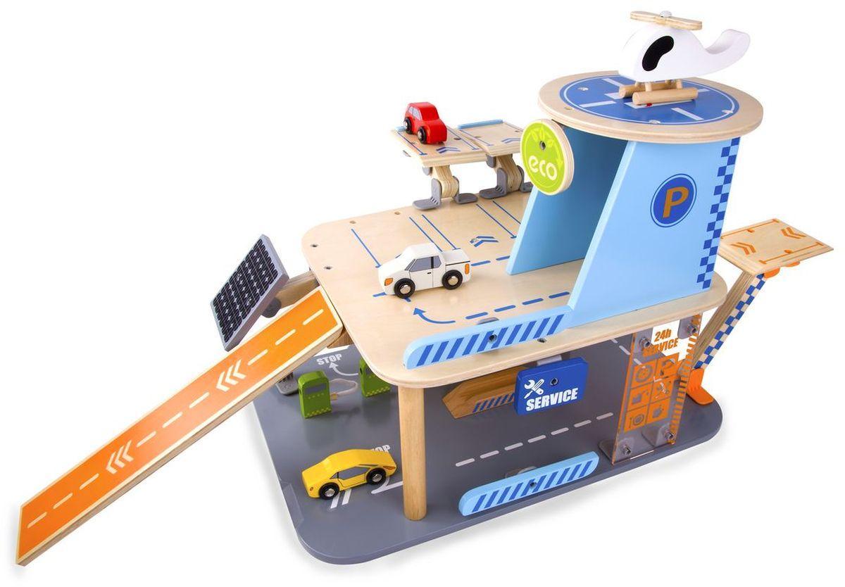 Classic World Парковка Создай свой собственный гараж ролевые игры classic world игровой набор из дерева пояс столяра