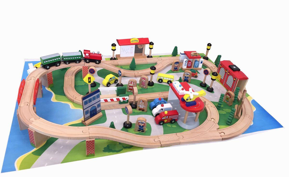 Kids4Kids Конструктор Гигантская железная дорога - Железные дороги