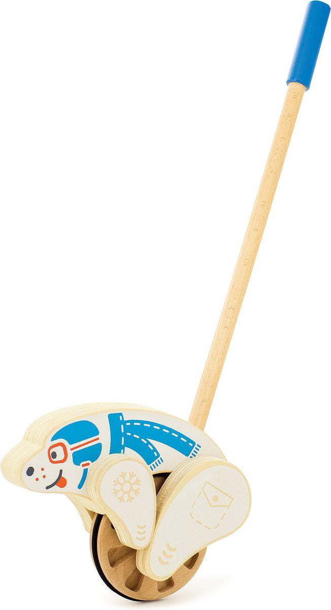 Zakazat.ru Мир деревянных игрушек Игрушка-каталка Мишка