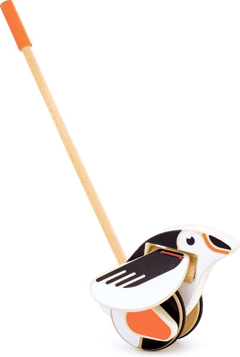Мир деревянных игрушек Игрушка-каталка Пингвин