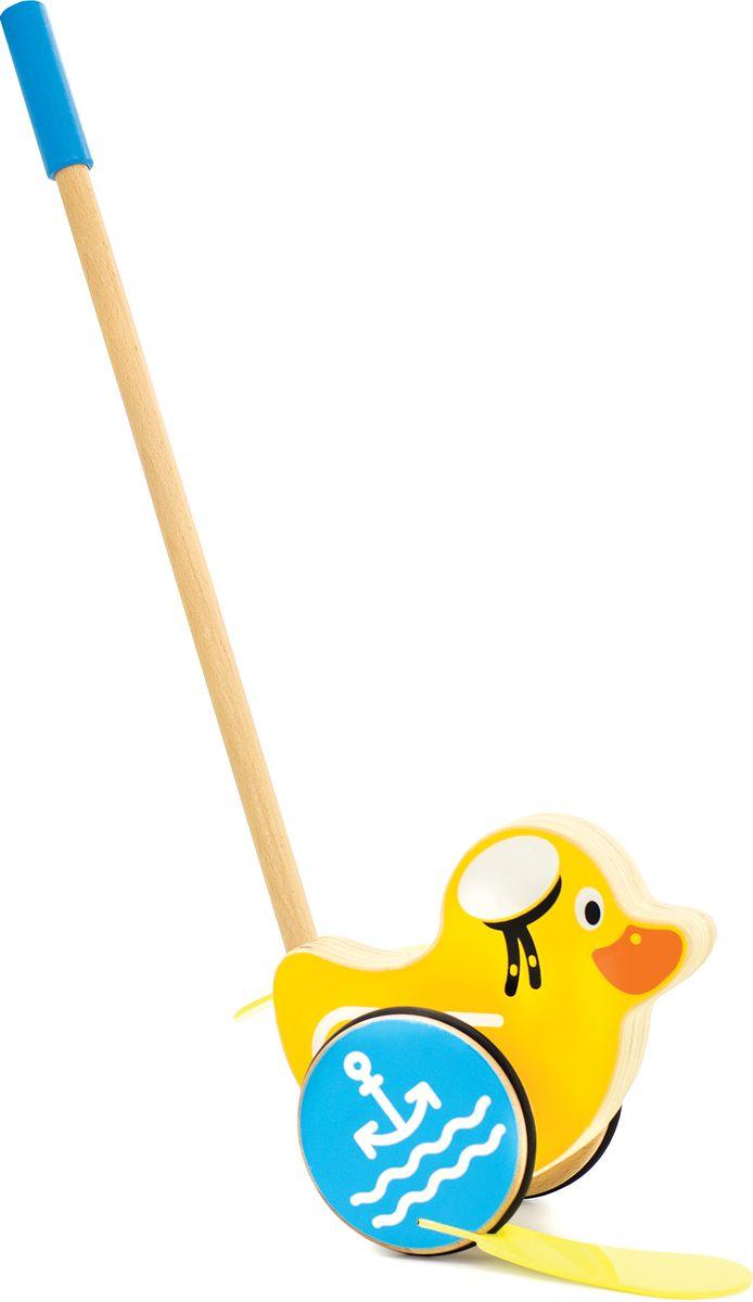 Мир деревянных игрушек Игрушка-каталка Утенок