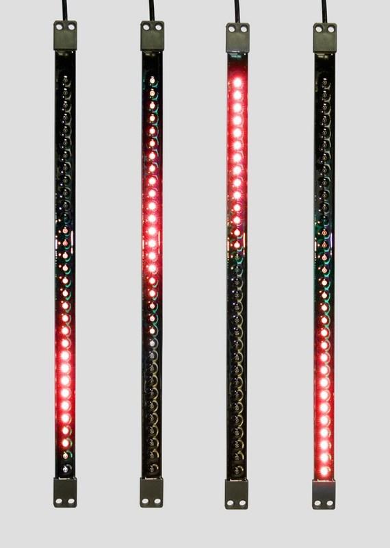 Гирлянда Neon-Night Сосулька, светодиодная, двухсторонняя, 32х2 LED, цвет: черный, красный, 50 см256-123«Светодиодная сосулька» - это оригинальное, красивое и современное средство оформления фасадов и интерьеров зданий, деревьев, витрин и т.д. Она представляет собой прямоугольную трубку длиной 50 см в пластиковом корпусе чёрного цвета. Внутри надежно закреплена двусторонняя тонкая плата со светодиодами и микрочипом, обеспечивающим динамику с эффектом стекающей капли. Гирлянда работает от напряжения 9,5 V и имеет влагозащищённое исполнение, что позволяет безопасно использовать её как в помещении, так и на улице. «Светодиодные сосульки» соединяются в единую цепь с помощью комплектов для подключения - арт. 256-152 (4 шт.) или 256-153 (5 шт) и затем подключаются к бытовой сети через понижающий трансформатор - арт. 256-154. Вы самостоятельно сможете создать красивую световую композицию, соединив между собой несколько таких комплектов. Как и другие светодиодные изделия, «Тающие сосульки» отличаются большим сроком службы (не менее 50000 часов при правильной эксплуатации) и очень низким энергопотреблением. Дополнительным преимуществом наших «Светодиодных сосулек» является то, что при их изготовлении испрользуются японские светодиоды Nichia. Цвет светодиодов - красный. Гирлянда представлена в нескольких цветах.