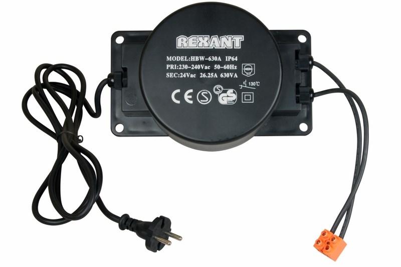 Трансформатор 220-24V 630 Вт - Гирлянды и светильники