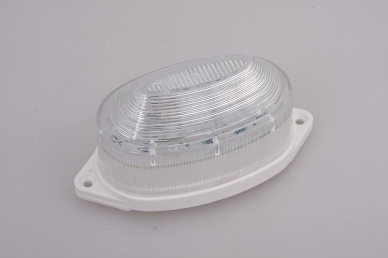 Лампа-строб Neon-Night, накладная, 30 LED, цвет: белый415-115Строб-лампы пользуются большой популярностью в декоративной осветительной рекламе. Яркие вспышки хорошо привлекают внимание, как на больших, так и на малых расстояниях. Использование новейших светодиодных технологий позволяет увеличить ресурс ламп и в течении многих лет выполнять свою функцию. В корпусе лампы размещены крепежные отверстия, что позволяет установить лампу на любую поверхность. Строб гораздо сильнее и быстрее привлекает внимание, чем другие источники света и применяют его чаще всего в развлекательных целях. Грамотное использование таких ламп может сделать любую наружную рекламу очень эффектной.
