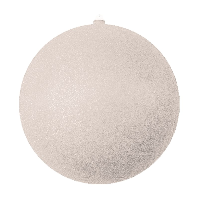 Украшение новогоднее подвесное Neon-Night Шар с блестками, цвет: серебряный, 25 см502-045Новогоднее подвесное украшение Neon-Night отлично подойдет для декорации вашего дома и новогодней ели. Новогоднее украшение можно повесить в любом понравившемся вам месте. Но, конечно, удачнее всего оно будет смотреться на праздничной елке.Елочная игрушка - символ Нового года. Она несет в себе волшебство и красоту праздника. Такое украшение создаст в вашем доме атмосферу праздника, веселья и радости.
