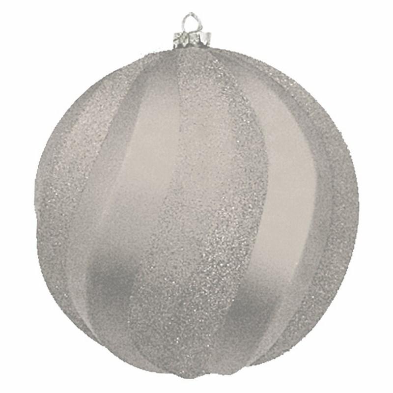 Украшение новогоднее подвесное Neon-Night Шар Вихрь, цвет: серебряный, 20 см502-065Новогоднее подвесное украшение Neon-Night отлично подойдет для декорации вашего дома и новогодней ели. Новогоднее украшение можно повесить в любом понравившемся вам месте. Но, конечно, удачнее всего оно будет смотреться на праздничной елке.Елочная игрушка - символ Нового года. Она несет в себе волшебство и красоту праздника. Такое украшение создаст в вашем доме атмосферу праздника, веселья и радости.