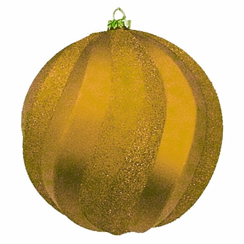 Украшение новогоднее подвесное Neon-Night Шар Вихрь, цвет: золотой, 20 см502-066Новогоднее подвесное украшение Neon-Night отлично подойдет для декорации вашего дома и новогодней ели. Новогоднее украшение можно повесить в любом понравившемся вам месте. Но, конечно, удачнее всего оно будет смотреться на праздничной елке.Елочная игрушка - символ Нового года. Она несет в себе волшебство и красоту праздника. Такое украшение создаст в вашем доме атмосферу праздника, веселья и радости.