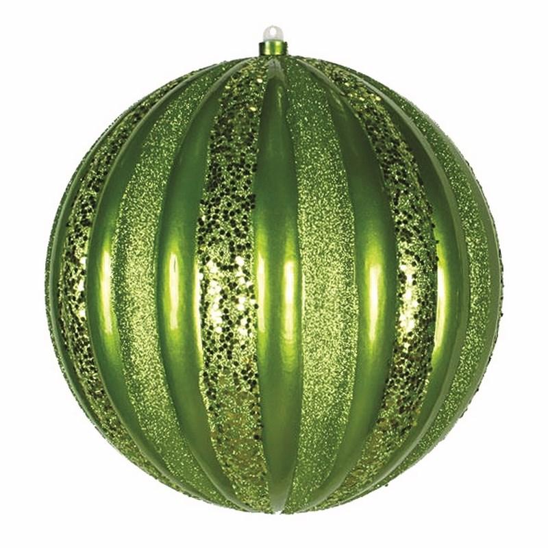 Украшение новогоднее подвесное Neon-Night Арбуз, цвет: зеленый, 30 см502-084Новогоднее подвесное украшение Neon-Night отлично подойдет для декорации вашего дома и новогодней ели. Новогоднее украшение можно повесить в любом понравившемся вам месте. Но, конечно, удачнее всего оно будет смотреться на праздничной елке.Елочная игрушка - символ Нового года. Она несет в себе волшебство и красоту праздника. Такое украшение создаст в вашем доме атмосферу праздника, веселья и радости.