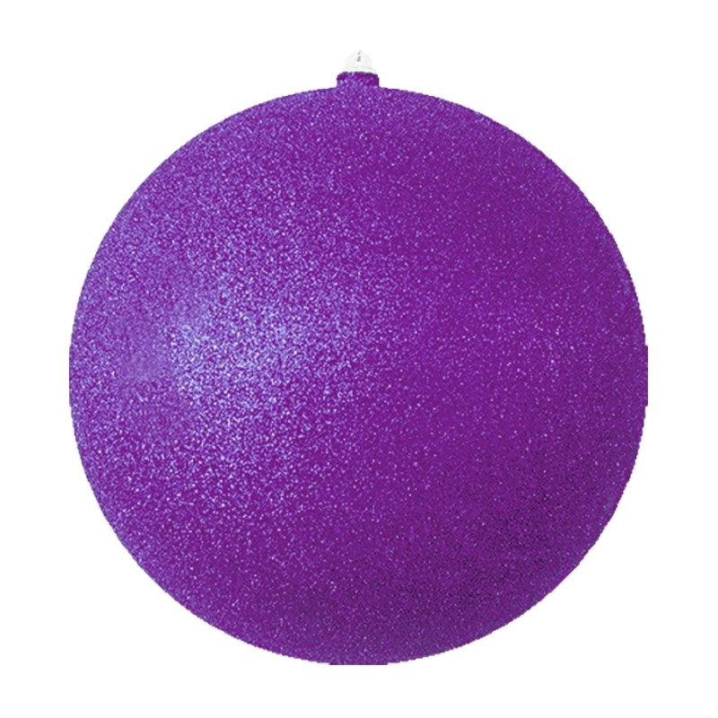 Украшение новогоднее подвесное Neon-Night Шарик, цвет: фиолетовый, 20 см новогоднее подвесное украшение собака ф21 1716