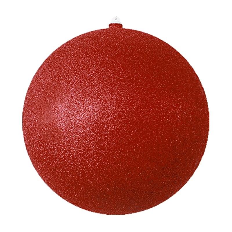 Украшение новогоднее подвесное Neon-Night Шарик, цвет: красный, 25 см502-142Новогоднее подвесное украшение Neon-Night отлично подойдет для декорации вашего дома и новогодней ели. Новогоднее украшение можно повесить в любом понравившемся вам месте. Но, конечно, удачнее всего оно будет смотреться на праздничной елке.Елочная игрушка - символ Нового года. Она несет в себе волшебство и красоту праздника. Такое украшение создаст в вашем доме атмосферу праздника, веселья и радости.