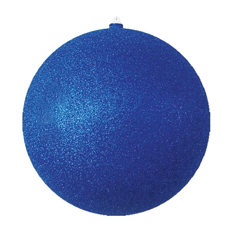 Украшение новогоднее подвесное Neon-Night Шарик, цвет: синий, 30 см новогоднее подвесное украшение собака ф21 1716
