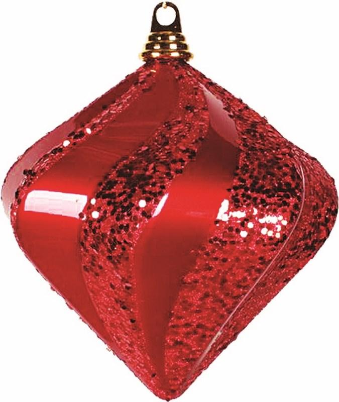Украшение новогоднее подвесное Neon-Night Алмаз, цвет: красный, 20 см502-202Новогоднее подвесное украшение Neon-Night отлично подойдет для декорации вашего дома и новогодней ели. Новогоднее украшение можно повесить в любом понравившемся вам месте. Но, конечно, удачнее всего оно будет смотреться на праздничной елке.Елочная игрушка - символ Нового года. Она несет в себе волшебство и красоту праздника. Такое украшение создаст в вашем доме атмосферу праздника, веселья и радости.