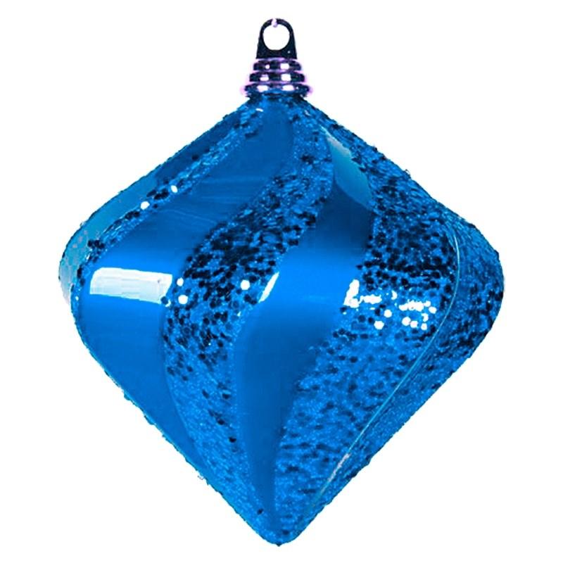 Украшение новогоднее подвесное Neon-Night Алмаз, цвет: синий, 20 см новогоднее подвесное украшение собака ф21 1716