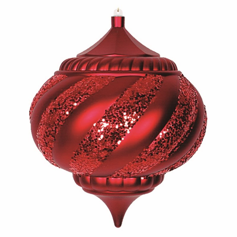 Украшение новогоднее подвесное Neon-Night Лампа, цвет: красный, 25 см новогоднее подвесное украшение собака ф21 1716