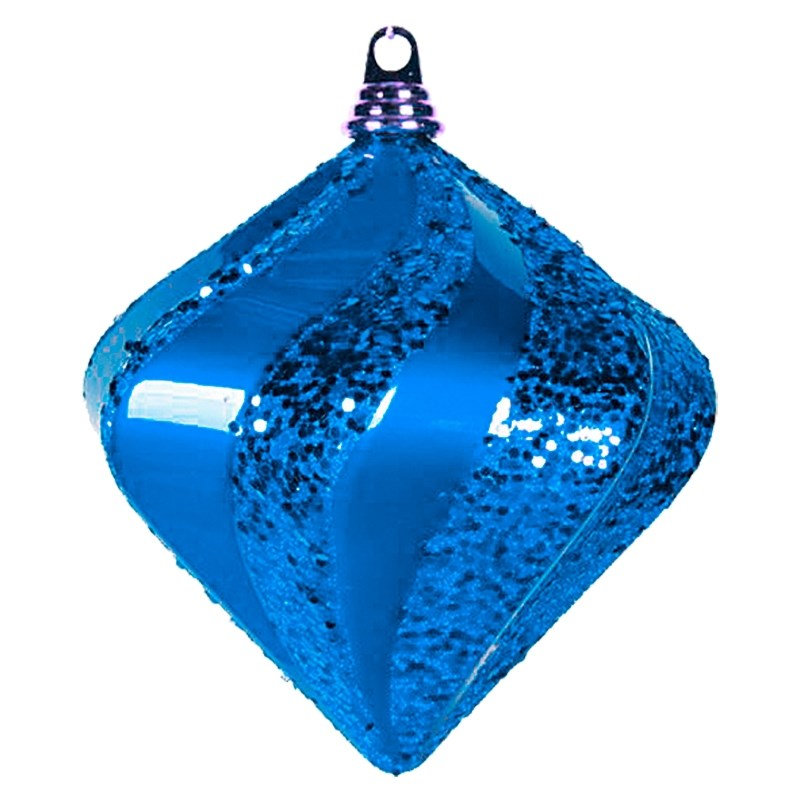 Украшение новогоднее подвесное Neon-Night Алмаз, цвет: синий, 25 см502-213Новогоднее подвесное украшение Neon-Night отлично подойдет для декорации вашего дома и новогодней ели. Новогоднее украшение можно повесить в любом понравившемся вам месте. Но, конечно, удачнее всего оно будет смотреться на праздничной елке.Елочная игрушка - символ Нового года. Она несет в себе волшебство и красоту праздника. Такое украшение создаст в вашем доме атмосферу праздника, веселья и радости.