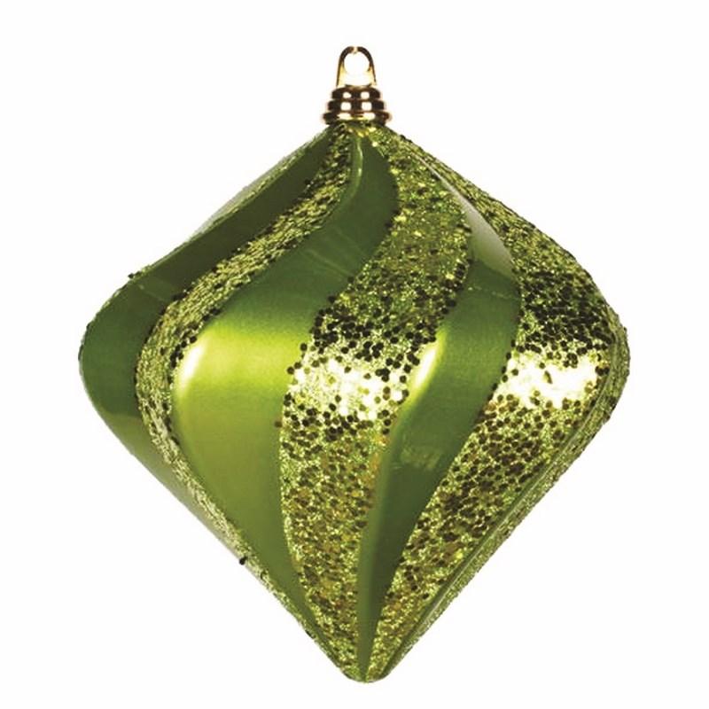 Украшение новогоднее подвесное Neon-Night Алмаз, цвет: зеленый, 25 см502-214Новогоднее подвесное украшение Neon-Night отлично подойдет для декорации вашего дома и новогодней ели. Новогоднее украшение можно повесить в любом понравившемся вам месте. Но, конечно, удачнее всего оно будет смотреться на праздничной елке.Елочная игрушка - символ Нового года. Она несет в себе волшебство и красоту праздника. Такое украшение создаст в вашем доме атмосферу праздника, веселья и радости.