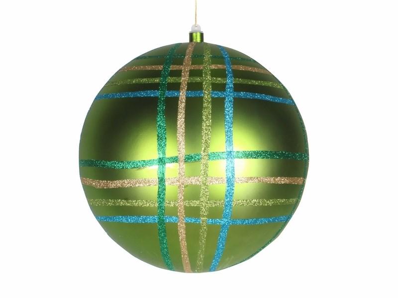 Украшение новогоднее подвесное Neon-Night Шар в клетку, цвет: зеленый, 30 см502-274Новогоднее подвесное украшение Neon-Night отлично подойдет для декорации вашего дома и новогодней ели. Новогоднее украшение можно повесить в любом понравившемся вам месте. Но, конечно, удачнее всего оно будет смотреться на праздничной елке.Елочная игрушка - символ Нового года. Она несет в себе волшебство и красоту праздника. Такое украшение создаст в вашем доме атмосферу праздника, веселья и радости.