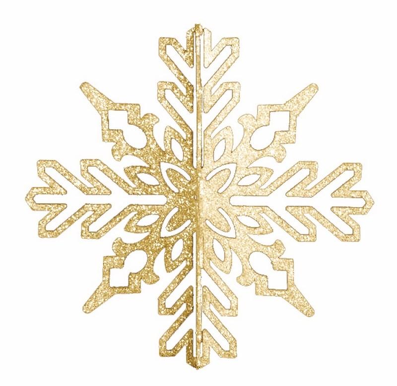 Украшение новогоднее подвесное Neon-Night Снежинка ажурная 3D, цвет: золотой, 23 см502-331Новогоднее подвесное украшение Neon-Night отлично подойдет для декорации вашего дома и новогодней ели. Новогоднее украшение можно повесить в любом понравившемся вам месте. Но, конечно, удачнее всего оно будет смотреться на праздничной елке.Елочная игрушка - символ Нового года. Она несет в себе волшебство и красоту праздника. Такое украшение создаст в вашем доме атмосферу праздника, веселья и радости.